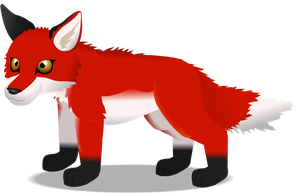 red fox by PurpleRat-YS
