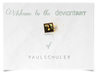 Welcome deviantART by Schulerr