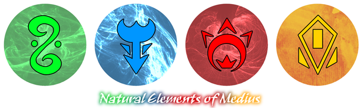 Commission - Natural Elements of Medius by raizy