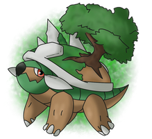 Torterra, My Favourite Pokemon by Imagine-A-Frenzy
