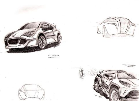 some sketches by 6mik-design