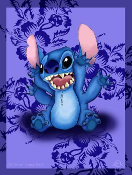 Disney's Stitch by Beckwee