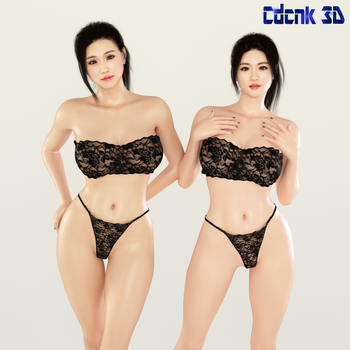 Korean Girls Project 01 by Cdcnk3D