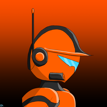 Code Headshot by Thesimpleartist4