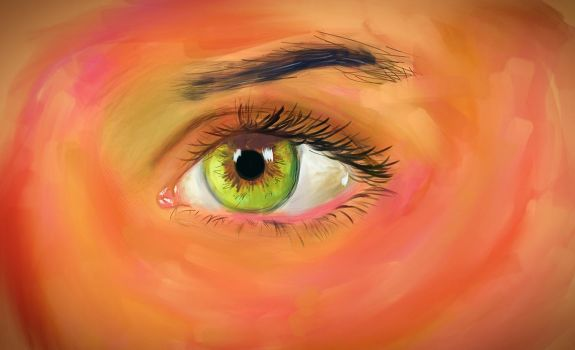 Eye Study by xxXKrystalSoulXxx