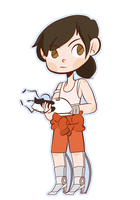 Chell by QueerbieTea