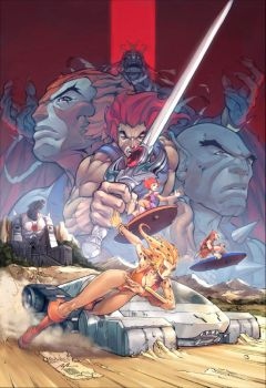 Thundercats Pin-Up by UdonCrew