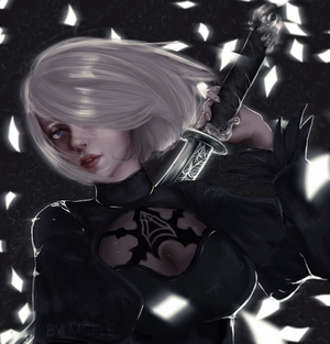 2B | NIER AUTOMATA by mcfle