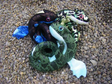 Clutch of hatchlings ~ NEW PATTERN! by StarDapple