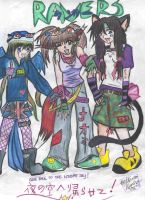 RAVERS of.the.night.sky by animeangel2010
