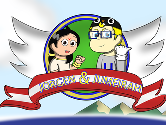Jorgen and Jumeirah Title Screen by IseeyouPenguin4