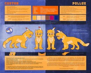 Castor and Pollux Reference sheet by Seanica