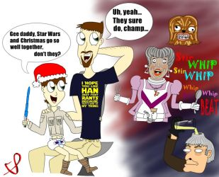A Very Star Wars Holiday (Shaney and Jonny) by ShaneySqueeBoy