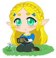 Botw - Zelda by kittycatvaati