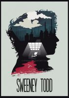 The Many Faces of Cinema: Sweeney Todd by Hyung86