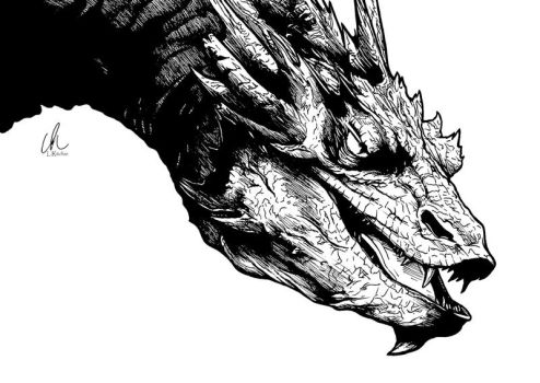 The Hobbit - Smaug by DynamixINK