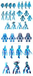 Crystal giant design process by ordo1010