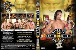 NXT Takeover Brooklyn II 2016 DVD Cover by Chirantha
