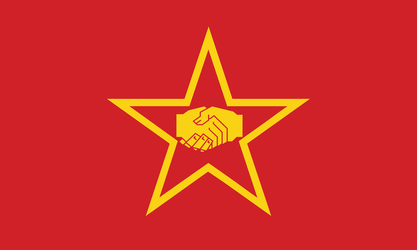 People's World Flag by Party9999999