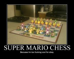 Mario Chess -demotivation- by Dragunov-EX