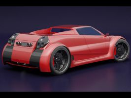 Concept car view2 by Storm909