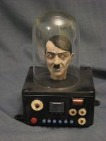 'They Saved Hitler's Brain' by Blairsculpture