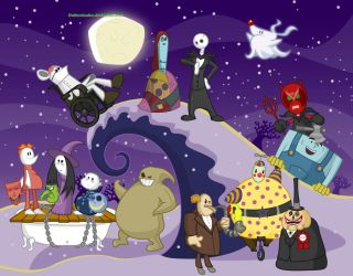The Nightmare Before Decemberween by DaBurninator