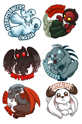 Cryptids batch 1 by Melle-d