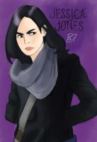 Jessica Jones by pencilHead7
