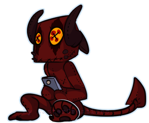 He dont stalk you phone by DasterCreations