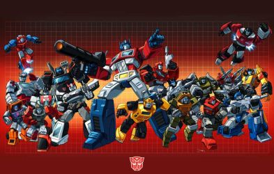 Autobot 84 shot with grid by Dan-the-artguy