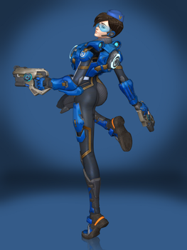 Tracer (Cadet Oxton) by Sticklove