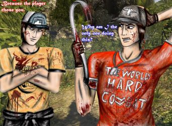 Left 4 Dead Island - John and Ellis : The only one by SovietMentality