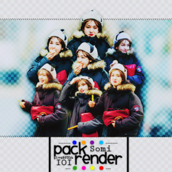 [PACK RENDER ] IOI -JEON SOMI by Ginq-Designer
