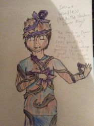 The shadow flower king (The Insane MrWoofless) by MoonDuskIndustries