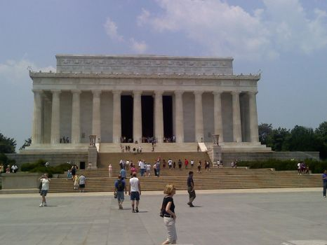 Lincoln Memorial 2 by redmustang03
