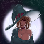 Witchy Rikka by TheDangerCat