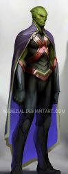 martian manhunter...i just love that name by nebezial