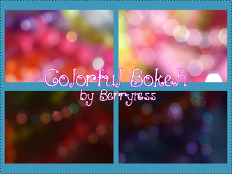 Colorful Bokeh Pack by Mifti-Stock