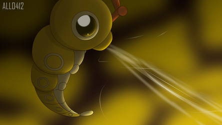 Alldex 0010: Shiny Caterpie by All0412