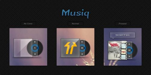 Musiq for XWidget by pigboat