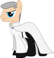 Orson Krennic Ponified [Rogue One] by sonofaskywalker