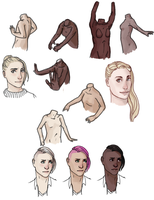skin coloring and torso sketches by sarahpenny10
