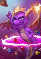 Spyro REMASTER by Lushies-Art