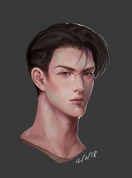 Male Portrait by coolcater96