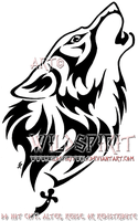 Gypsy's Fury Wolf Tattoo by WildSpiritWolf