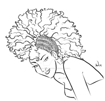 Lion Babe by InkCell-Illustration