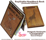 Refillable Hardback Book/Journal - Full Book by snazzie-designz