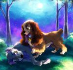 CC: Lady and Tramp by DrMistyTang