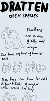 OPEN SPECIE - Dratten (READ DESCRIPTION) by Ayinai